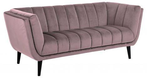2,5-Sitzer Sofa Thames - rosa
