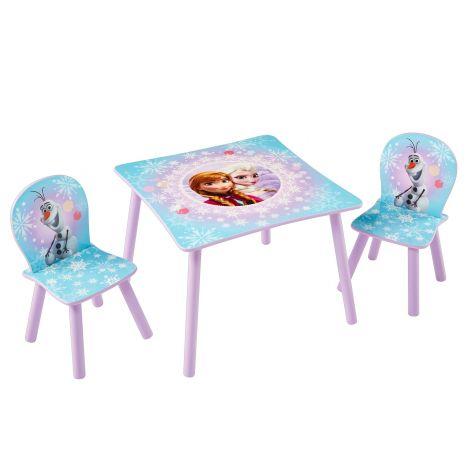 Kindertisch mit Stühlen - Die Eiskönigin