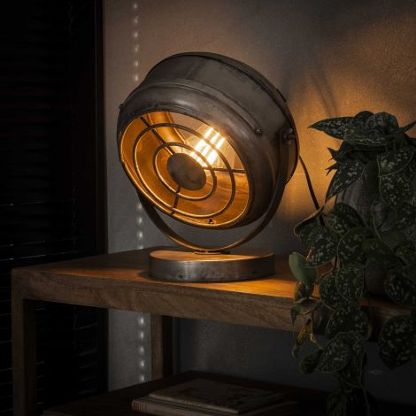 Tischlampe beam - Alt Silber Finish