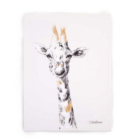 Gemälde Giraffe 30x40cm