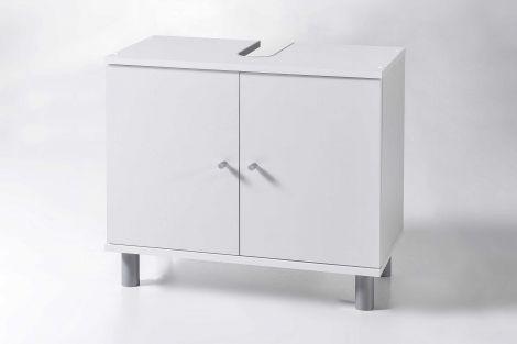 Waschtischunterschrank Benja 2 Türen - weiß