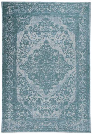 Teppich Argentella Medaillon 230x160 - Türkis
