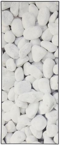 Teppich Vista Pebbles 180x50 Schwarz/Weiß