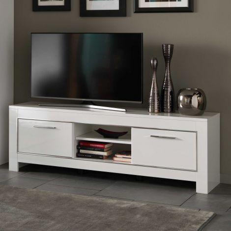 Modena Fernsehmöbel 160 cm - weiß