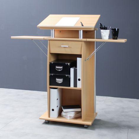 Fides Schreibtisch - braun