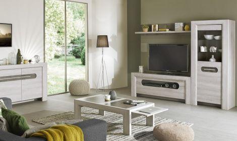 Fernsehschrank Sandrine 160cm - Eiche hell
