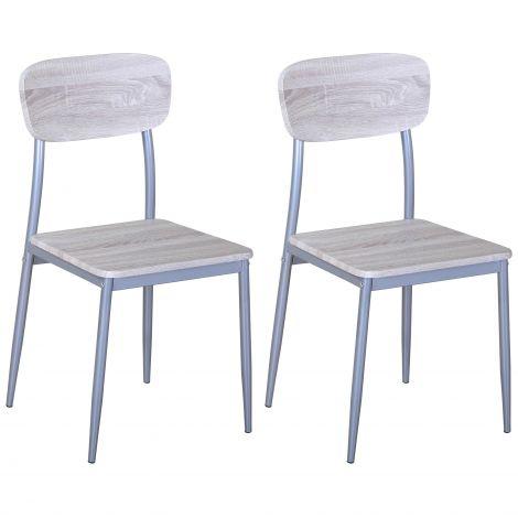 Set mit 2 Stühlen Toulouse
