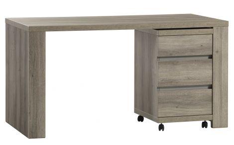 Schreibtisch Eline mit Schubladenblock