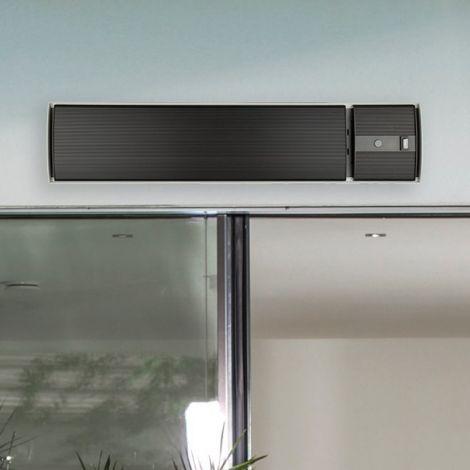 Elektrischer Terrassenheizer Hermes - schwarz
