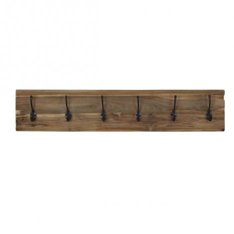 Garderobenständer Railwood - Teakholz