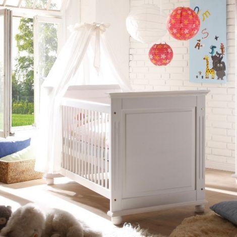 Babybett Laurel 70x140 - weiß