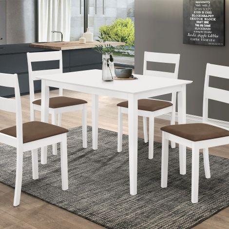 Tischset Damir - weiß