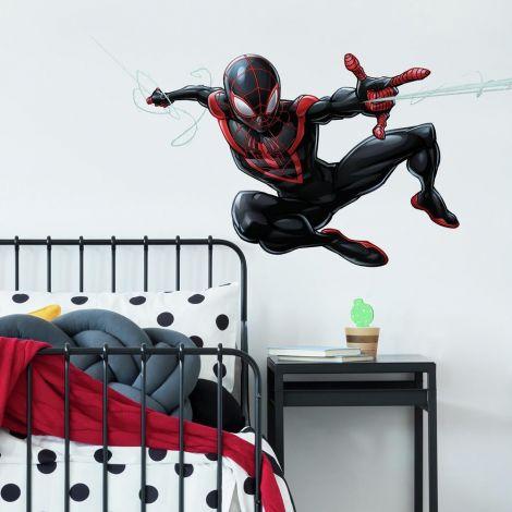 Wandaufkleber Spider-Man Miles Morales