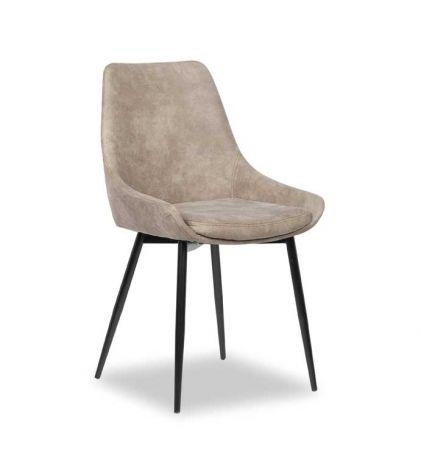 Set mit 2 Stühlen Mirano - grau