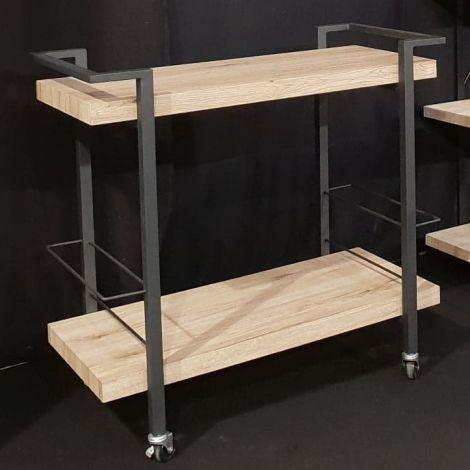 Küchenwagen Radja - schwarz/braun