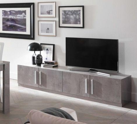 TV-Schrank Greta 208 cm - Beton