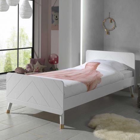 BILLY BED WHITE  90x200 CM *