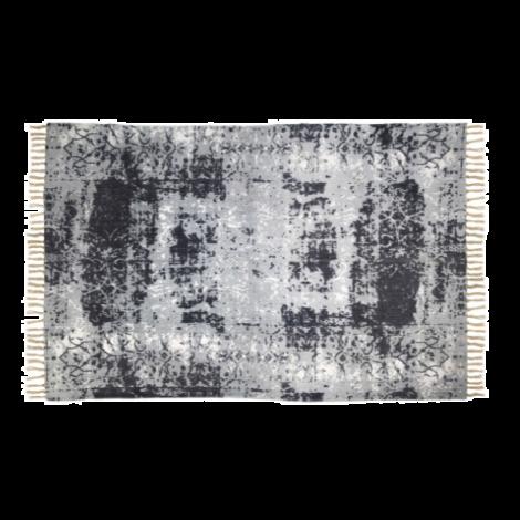 Teppich Vinta C 180x120 Baumwolle beige/blau/grau
