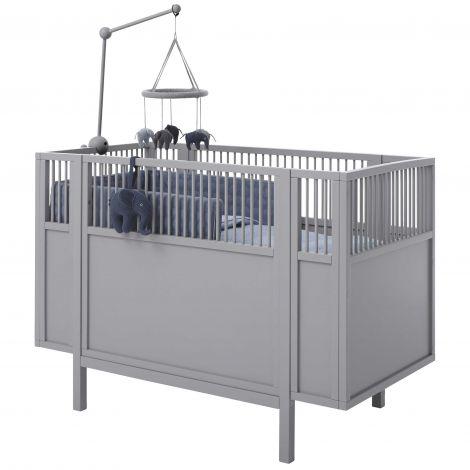 Babybett Janne - grau