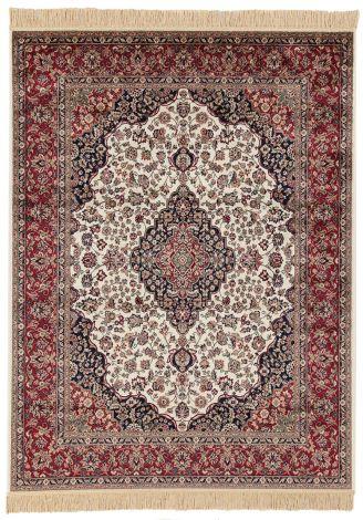 Teppich Farshian Medallion 230x160 - Rot/Elfenbein