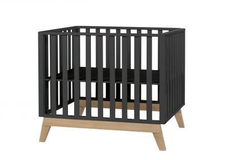 Babybett Malmo - schwarz