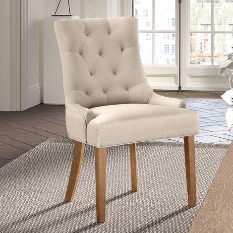 Satz von 2 Stühlen - sandfarben
