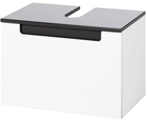 Schrank für Waschtisch Siena 60cm - weiß / anthrazit