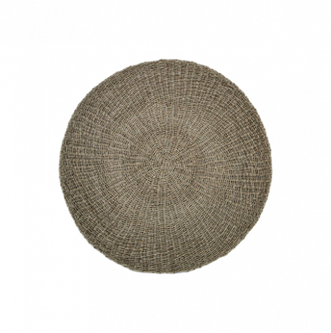 Teppich Malibu 150cm Raphia/Meeresgras natur