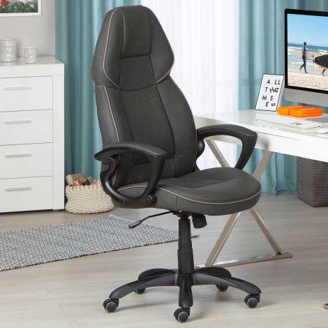 Schreibtischstuhl Titanest - schwarz/grau