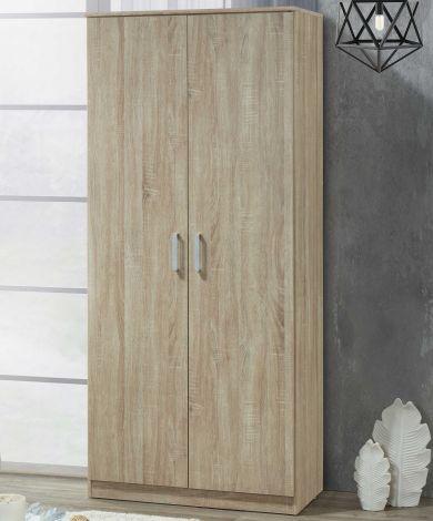Lias Kleiderschrank 2 Türen, 52 cm tief
