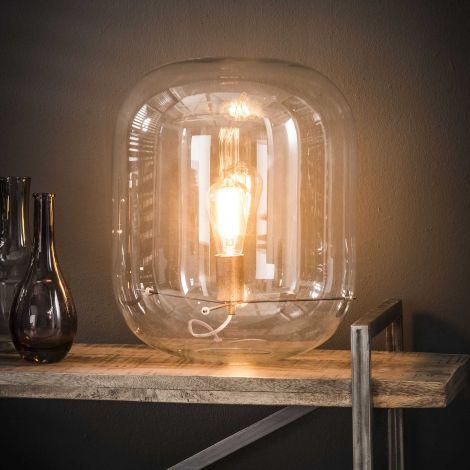 Tischlampe Glas