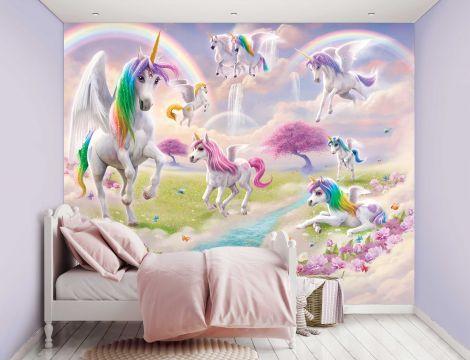 Kindertapete Magical Unicorn